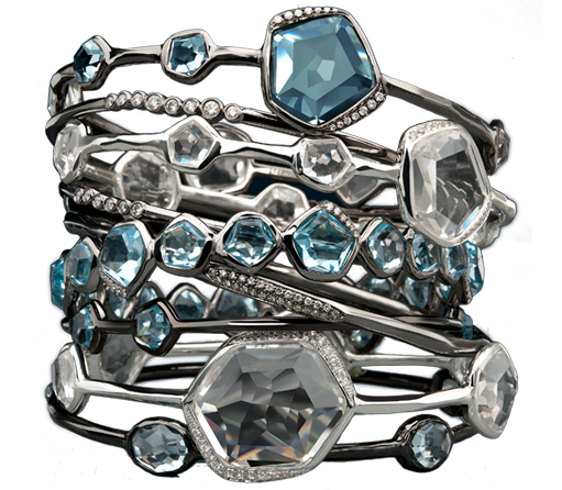 Ippolita started the Rock Candy jewelry trend. Love to wear their pieces although never sure i'm pronouncing their name correctly