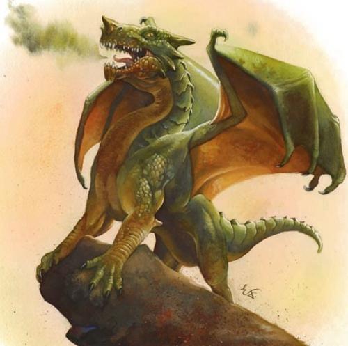 Green Dragon Wyrmling | Dragons in 2019 | Dragon, Dragon
