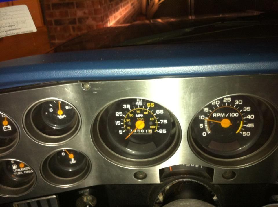 Dash with tach Chevy trucks, Gmc trucks, Chevy
