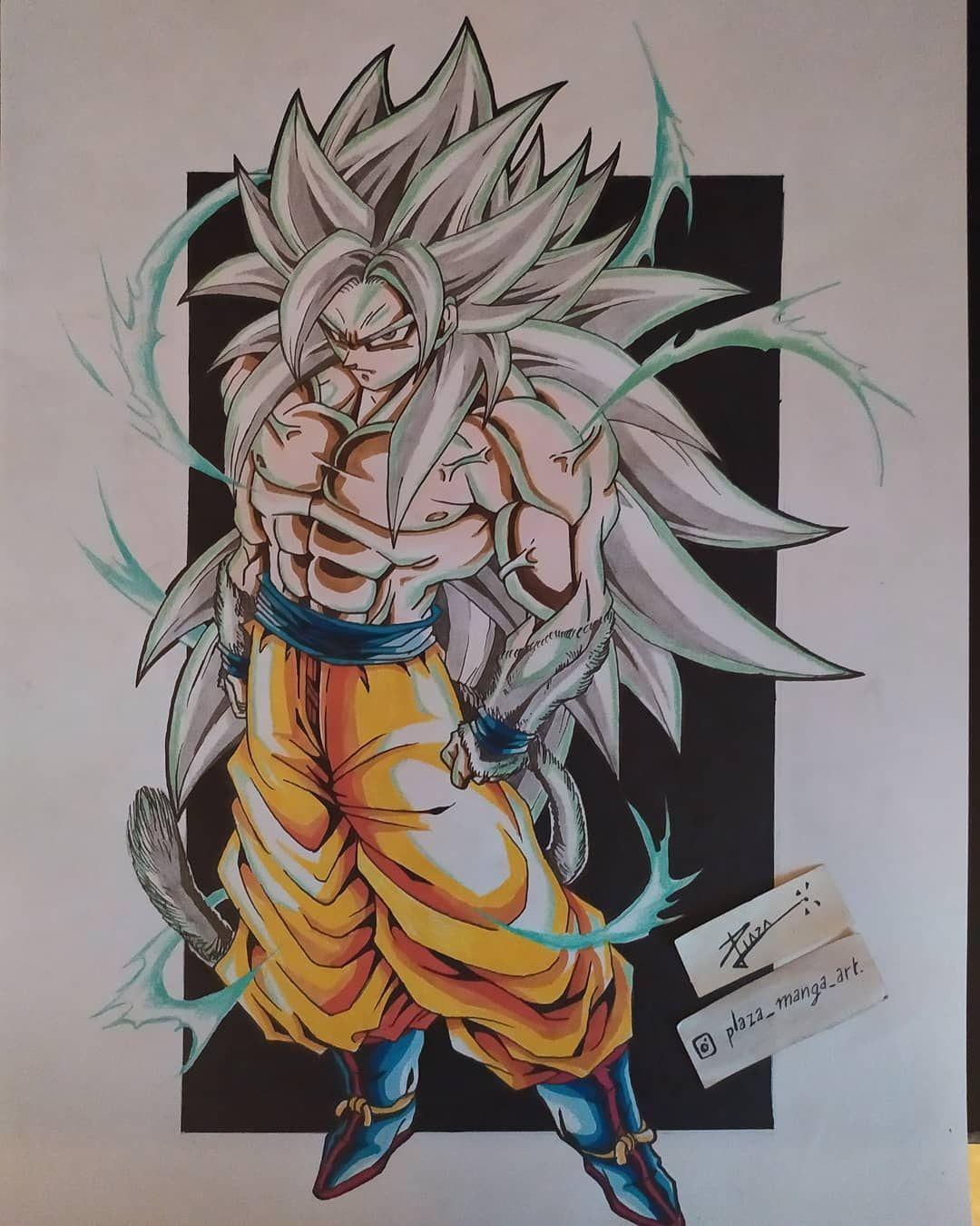 Francisco Tomas Plaza Rey Tren Instagram Goku Ssj4 Ultra Instinto Dragon Ball Art Anime Dragon Ball Super Dragon Ball Artwork