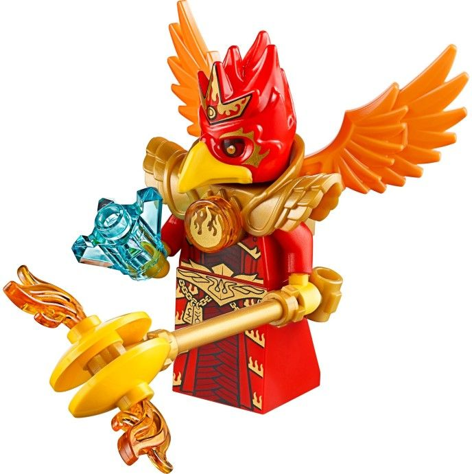LEGO NEW LEGENDS OF CHIMA FLINX FROM 70146 MINIFIGURE BIRD MINIFIG WITH ARMOR