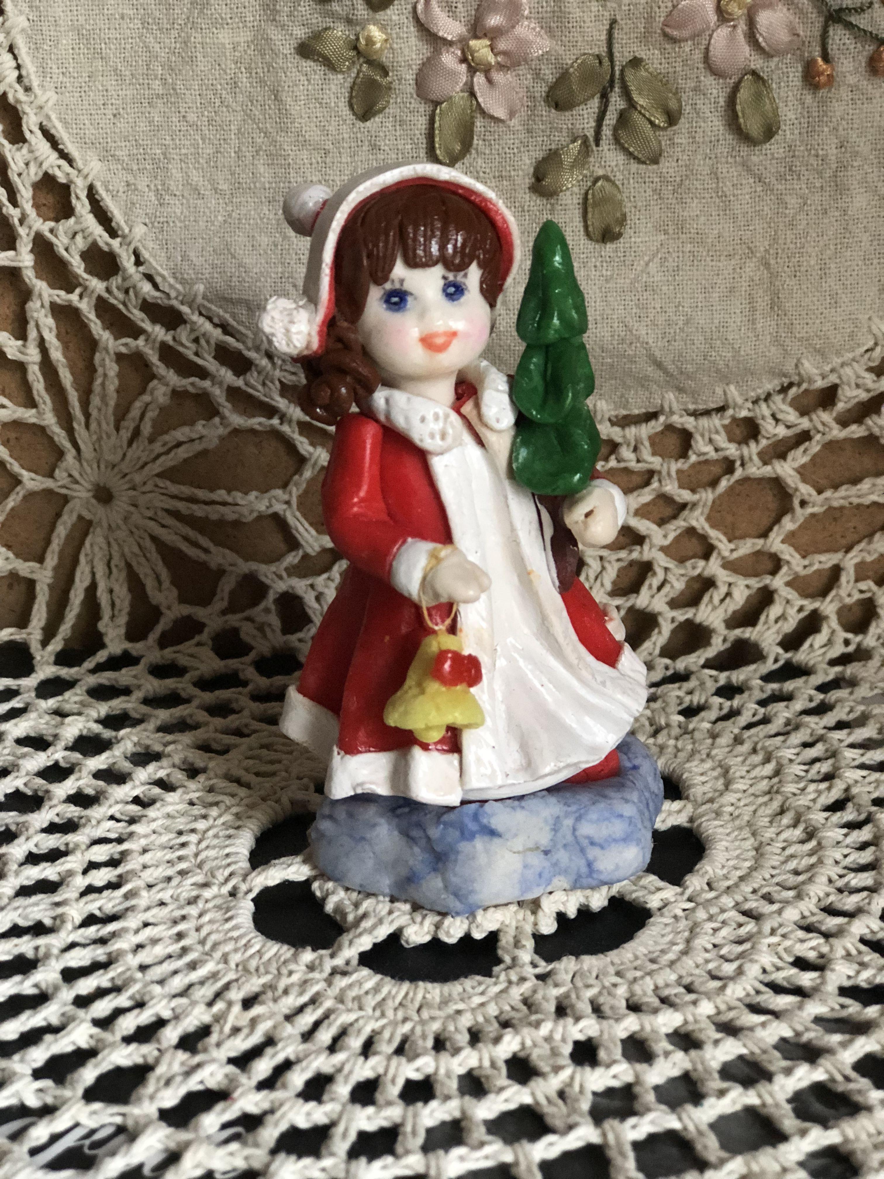 Куклы из солёного теста своими руками фото 588