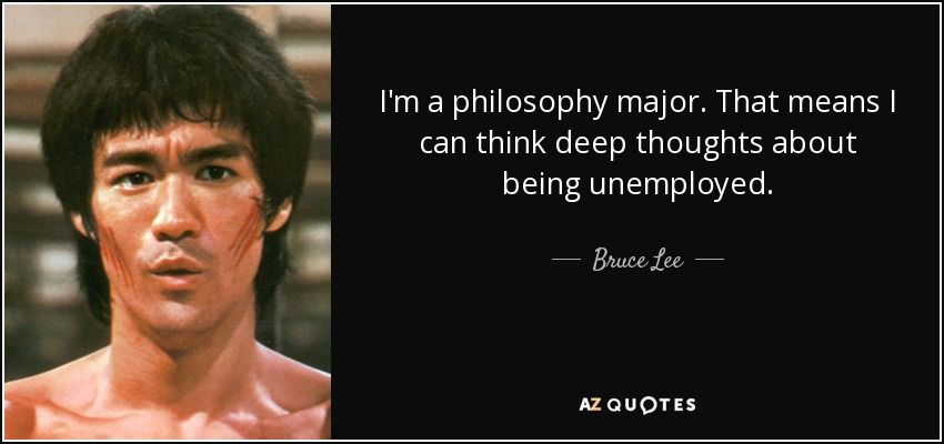Bruce Lee's degree in philosophy helped him develop his outlooks on  training and martial arts, leading to the legacy he l… | Bruce lee quotes, Bruce  lee, Rare quote