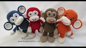 Amigurumi Rabbit Tutorial : Crochet pt how to crochet an amigurumi rabbit yarn scrap