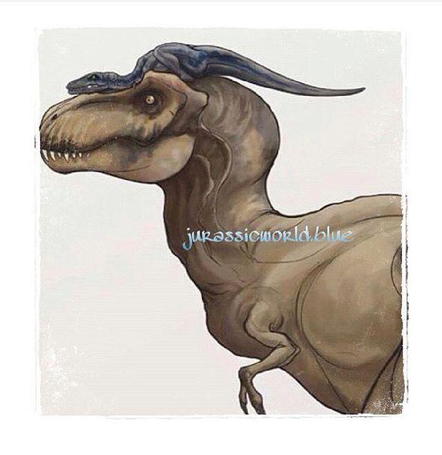 Rexy and blue   Jurassic Park   Pinterest   Parque jurásico ...