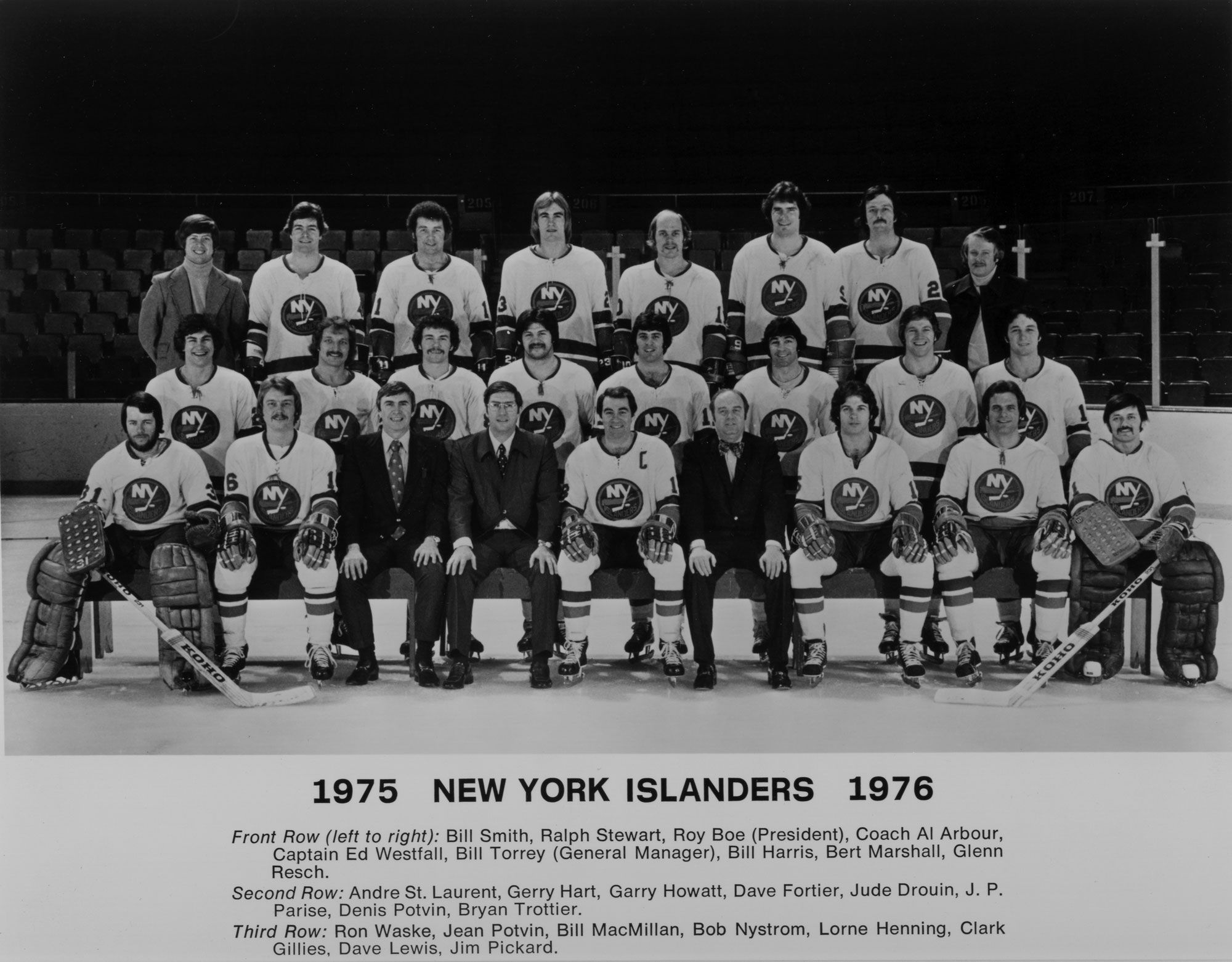 The 1975-76 New York Islanders.