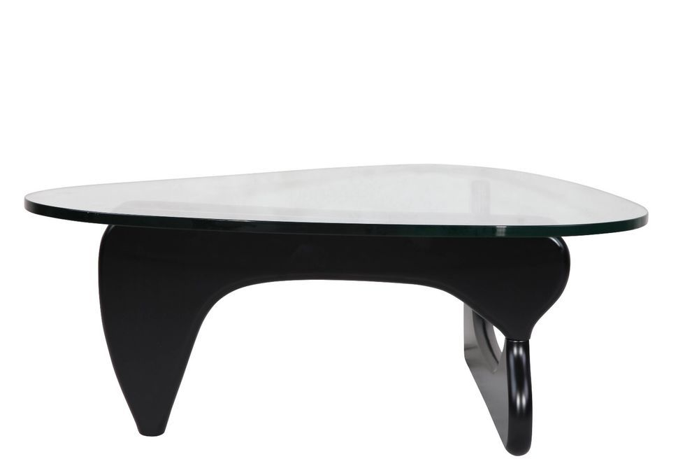 Noguchi Style Coffee Table Base Only In Black Modern Coffee
