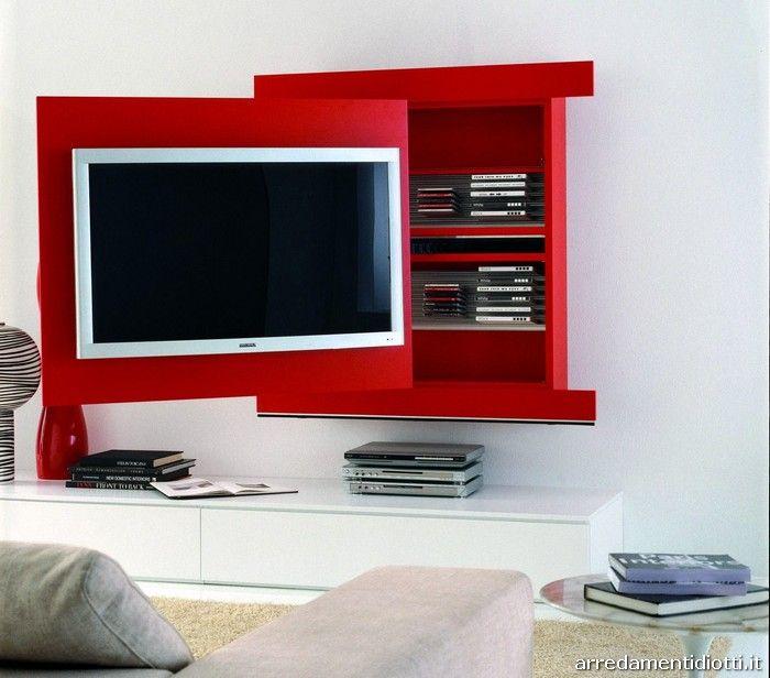 Sistema porta tv orientabile - DIOTTI A Arredamenti € 1558   My ...