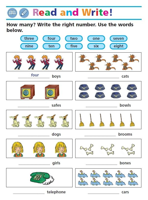 In On Under English Exercise For Kids English