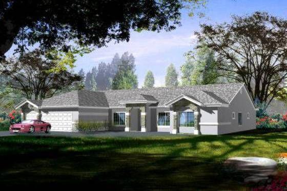 House Plan 1-658 houseplans.com