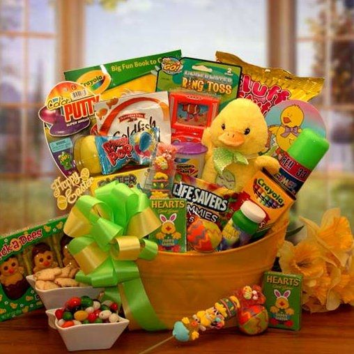 Easter sunshine gift basket easter sunshine and gift easter sunshine gift basket easter gift baskets arttowngifts negle Images