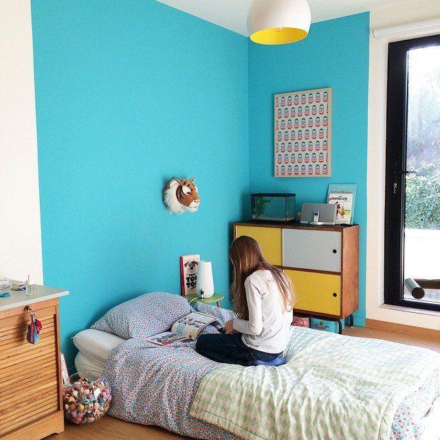 Une Chambre D Enfant Coloree Sodeco Meuble Diy Meuble Idees De Design D Interieur