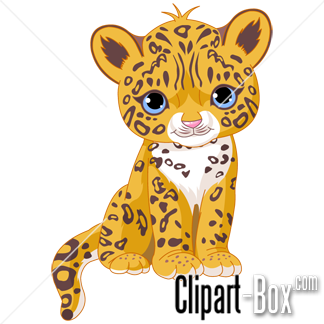 cute baby jaguar clip art animal clip art from the clipart box com rh pinterest com Cheetah Running Animation Cheetah Running Animation