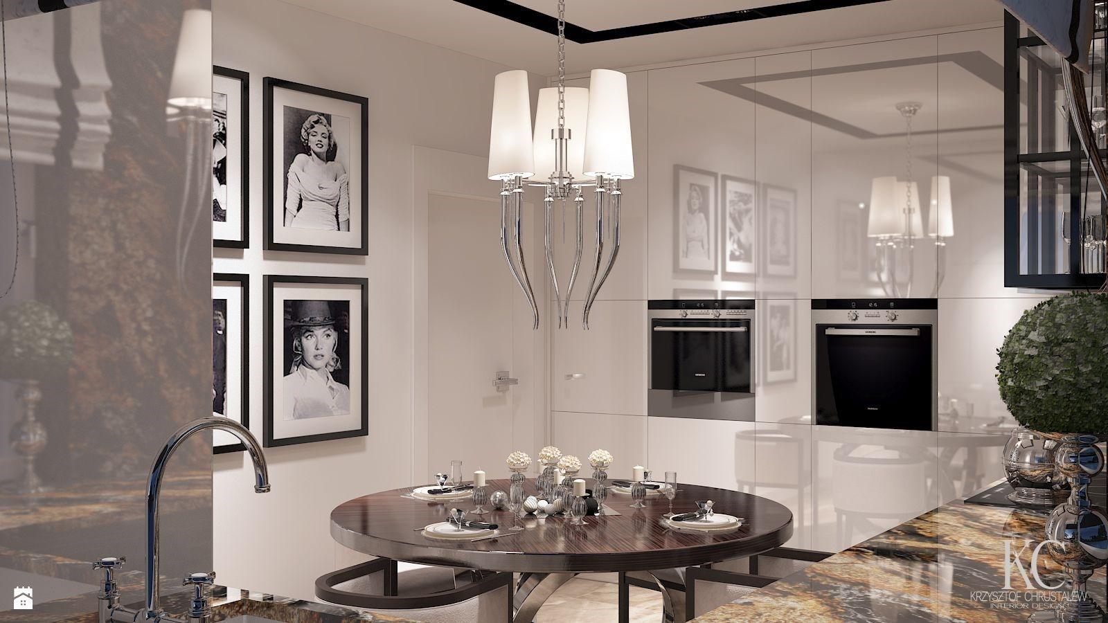 Wystroj Wnetrz Kuchnia Styl Glamour Projekty I Aranzacje Najlepszych Designerow Prawdziwe Inspiracje Dla Kazdego Dla Kogo Liczy Si Home Decor Decor Home