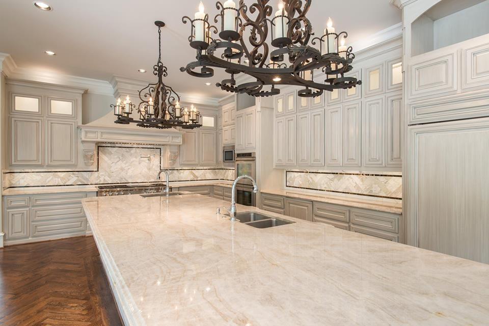 Stunning kitchen in this Danny W. Abdo Luxury Home. Taj