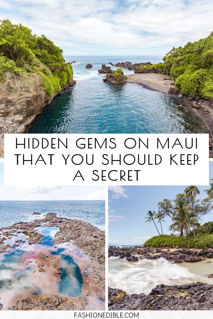 6 Hidden Gems on Maui That You Should Keep a Secre