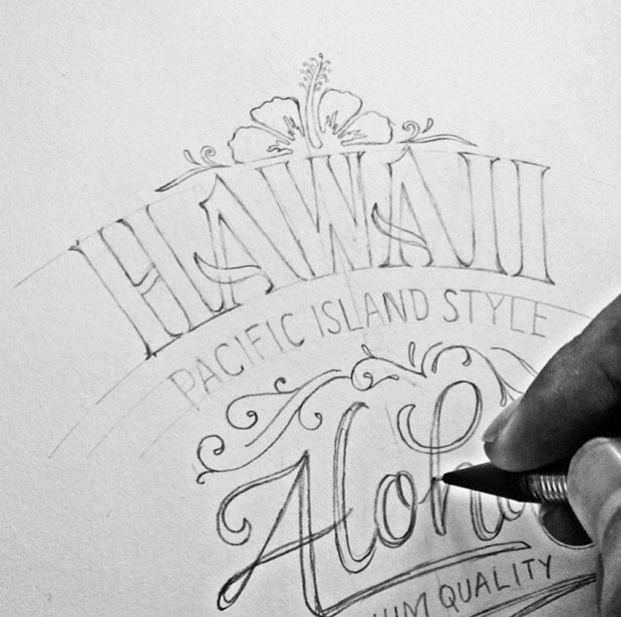 Hand Lettering Tutorial, Hand Lettering