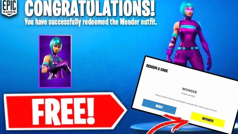 Unredeemed Free Fortnite Skin Codes Fortnite Wonder Skin Swapper Free Download Agfy In 2021 Fortnite Free Xbox One Free