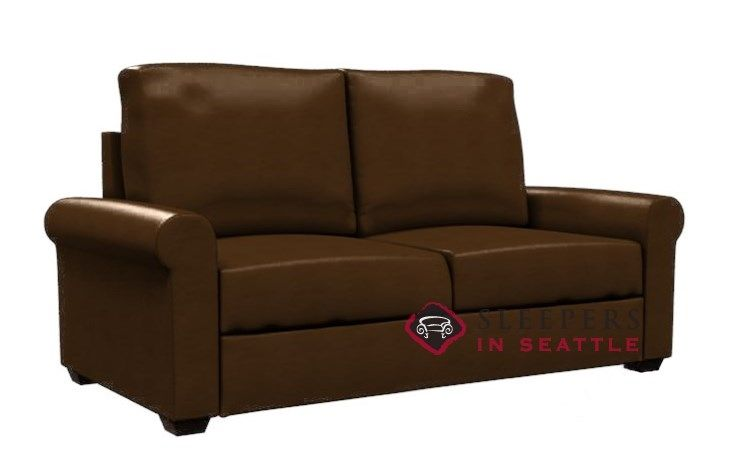 Lazar Industries Endicott Paragon Leather Sleeper (Full). Cozy And Comfy.  Customizable.