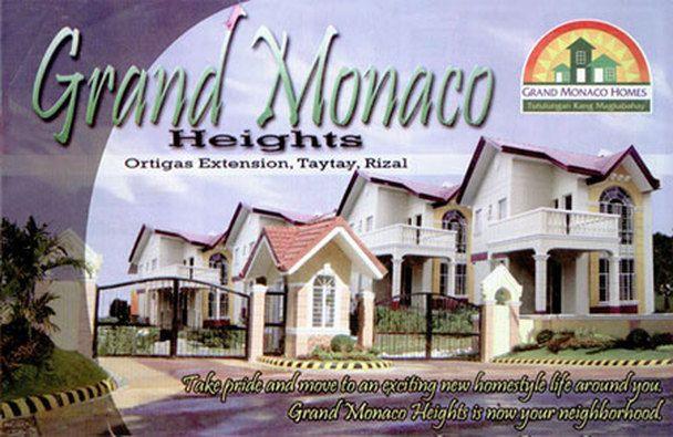 San isidro heights model house