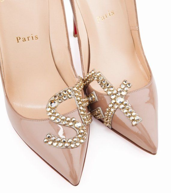Screw subtlety - Sex nude patent pumps