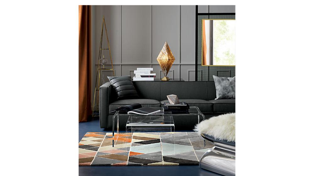 Best Peekaboo Acrylic Coffee Table Living Room Lounge Tall 400 x 300