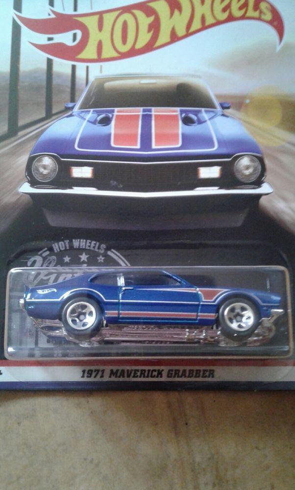 2016 Mattel Diecast Hot Wheels 1971 Maverick Grabber Car Vintage