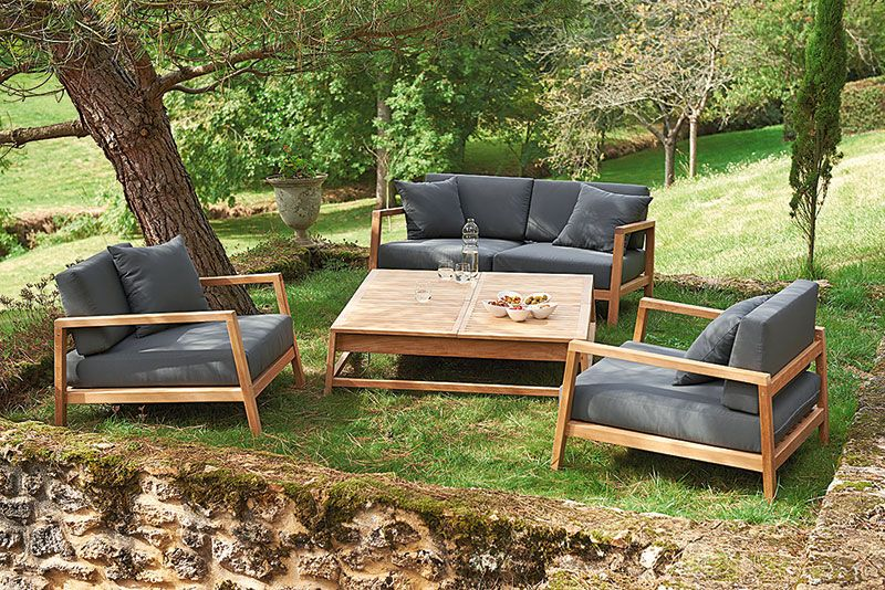 Un Vrai Salon D Exterieur Outdoor Furniture Outdoor Furniture Sets Outdoor Decor