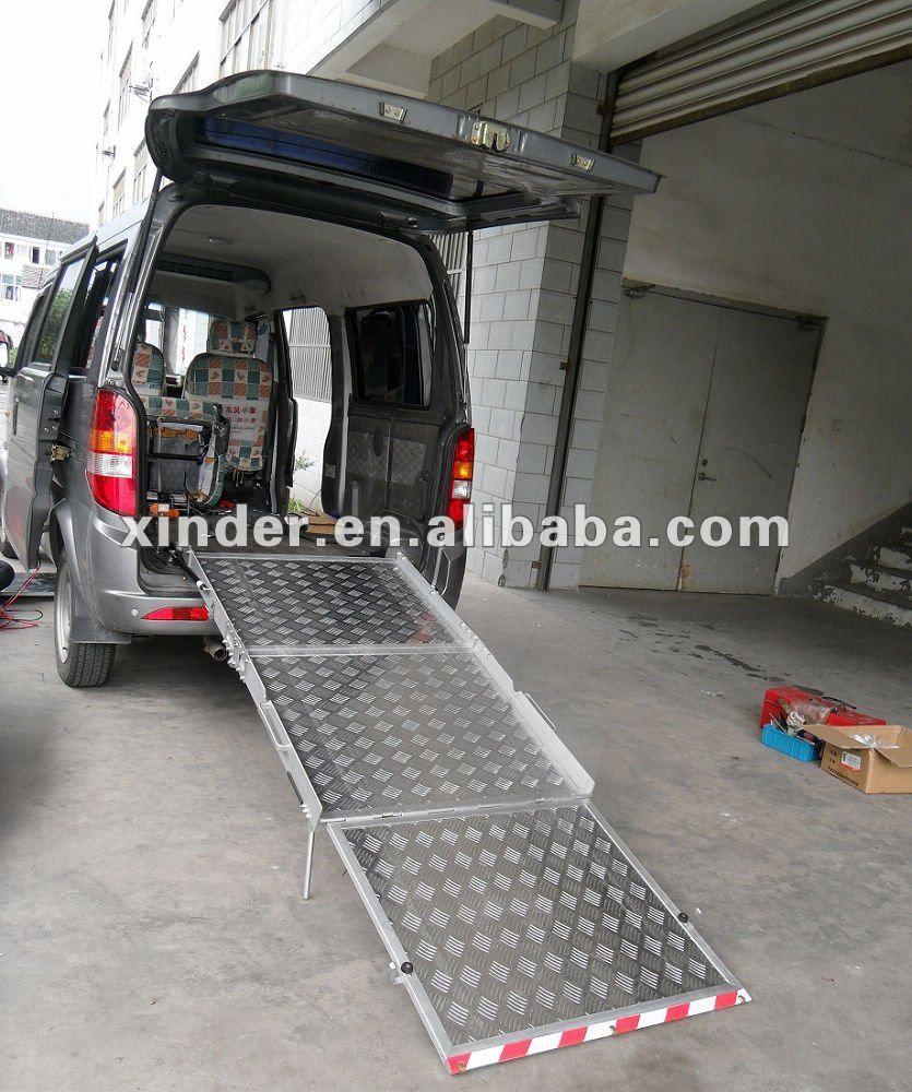 Bmwr Series Folding Manual Wheelchair Ramp For Van