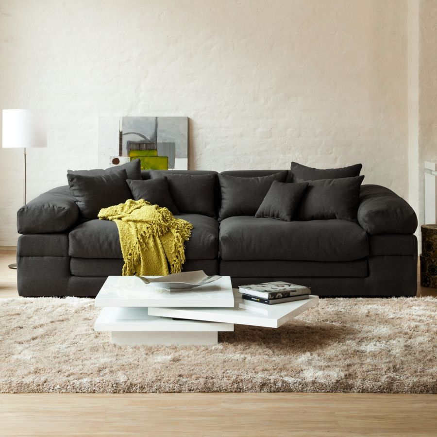 Bigsofa Nelson Webstoff In 2019 For The Home Sofa Living Room