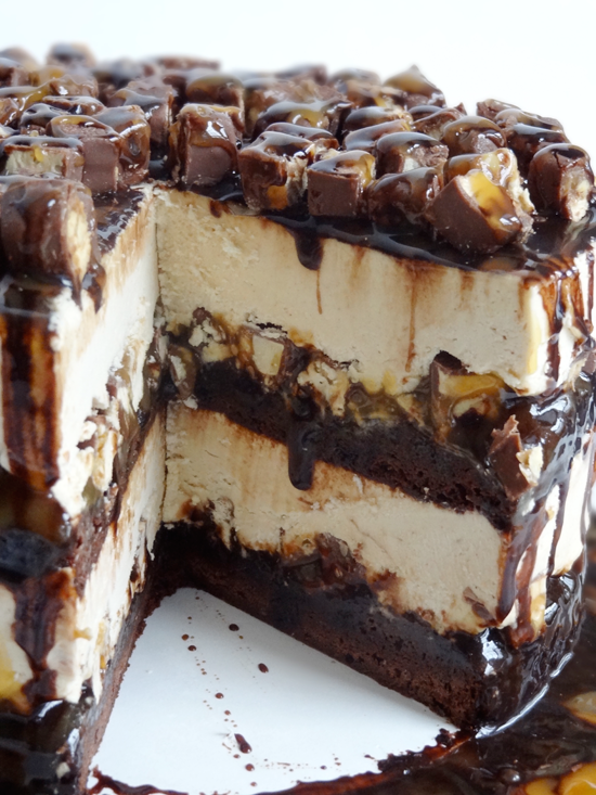 The 60 Most Delish Ice Cream Cakes Brownie ice cream Cream cake