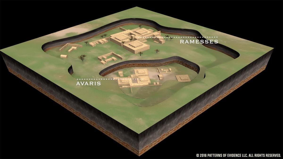Avaris Found Under Pi Ramesses Secrets Of The Bible Egypt