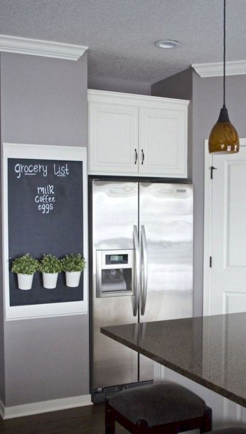 52 Awesome Practical Chalkboard Decor Ideas For Kitchen Home Decor Home Diy Cheap Home Decor