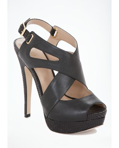 With luxe leather crisscross straps and metal detailing, this bebe sandal is a genius workweek-to-cocktails must-get. Try yours with anything from skinny jeans to maxi dresses.