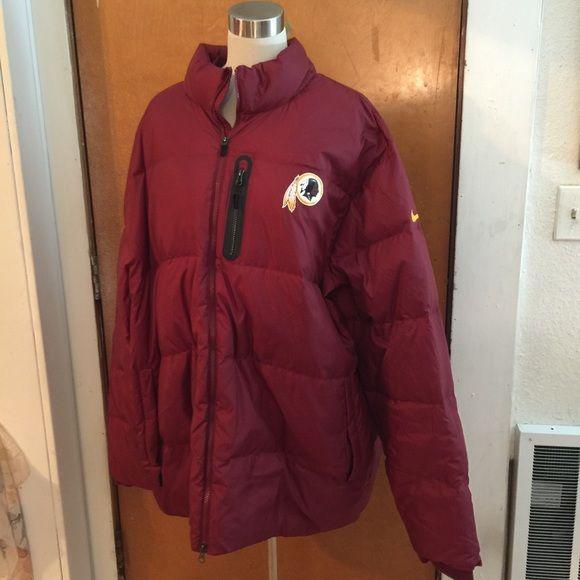 finest selection 04f72 d3900 Nike mens coat Nike mens coat. Washington Redskins Nike ...