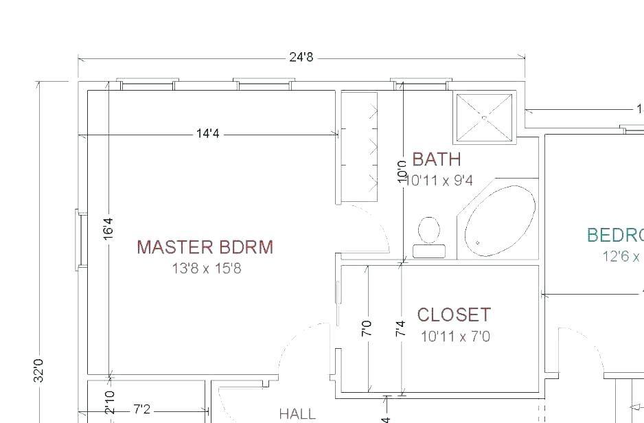 Master Bathroom Layouts Master Bathroom And Closet Floor Plans