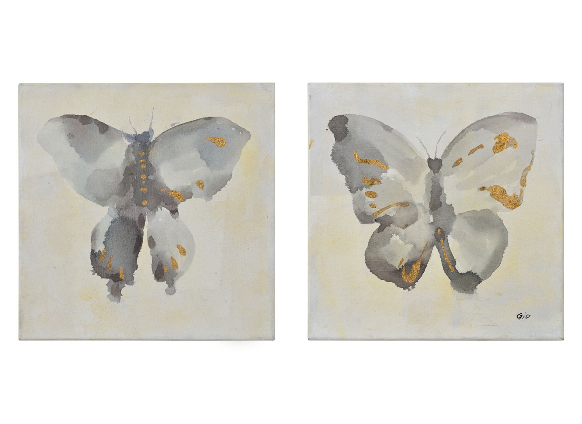 Fortune i u ii wall art renwil home gallery stores butterfly