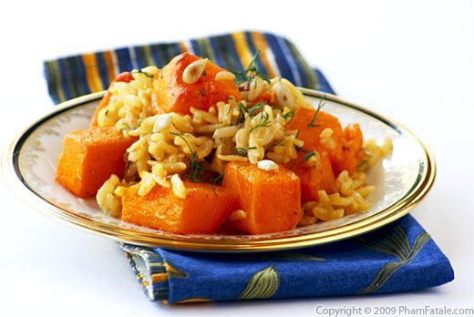 Cumin and saffron flavored butternut squash risotto zucchini index of vegan recipes pham fatale forumfinder Images