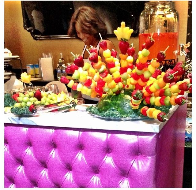 Fruit Table Catering Food Displays
