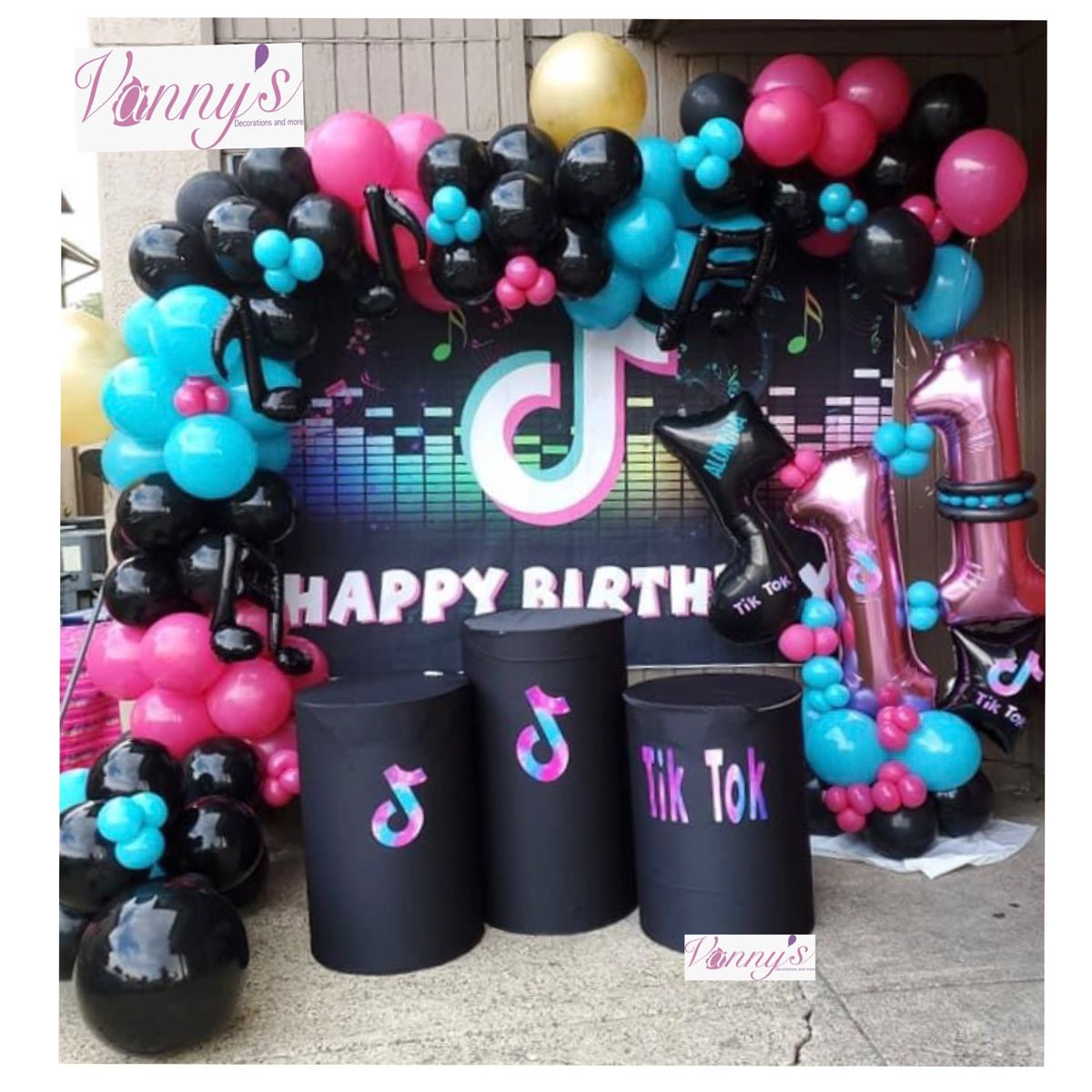 Tik Tok Decorations Balloon Decorations Party Birthday Party For Teens Surprise Birthday Decorations
