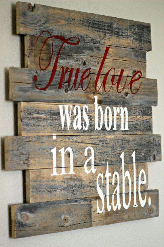 & Sign Decor Meaning True Meaning Of Vhristmas  Christmas  Pinterest  Pallets Craft