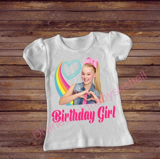 Jojo Siwa Birthday Shirt Inspired