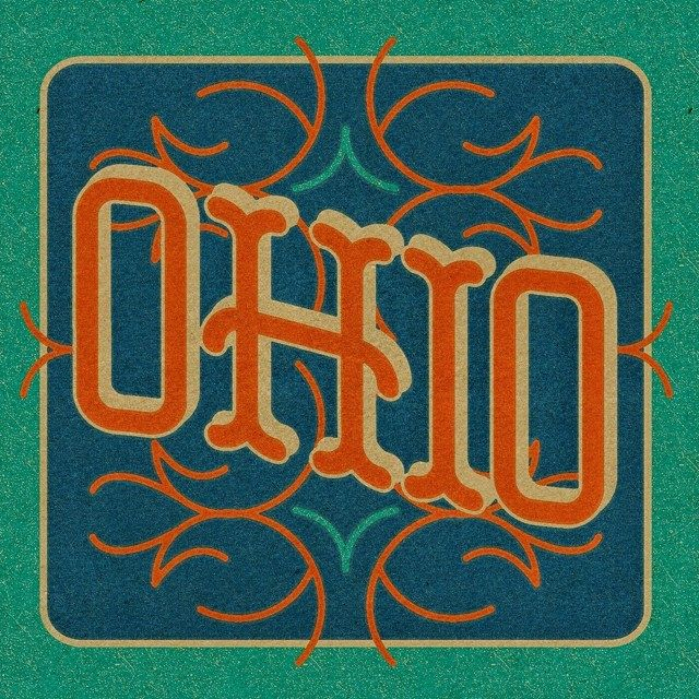 Little bit of everything in this Ohio custom type piece. Must have been influenced by all the pinstriper posts I see. #typehunter #typehunting #badgehunting #ohioquality #customtype