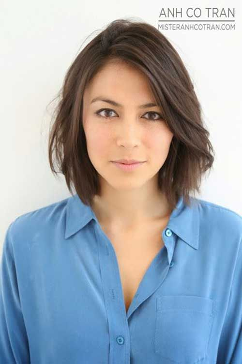 15 Short Haircuts for Fine Wavy Hair | http://www.short-haircut.com/15-short-haircuts-for-fine-wavy-hair.html