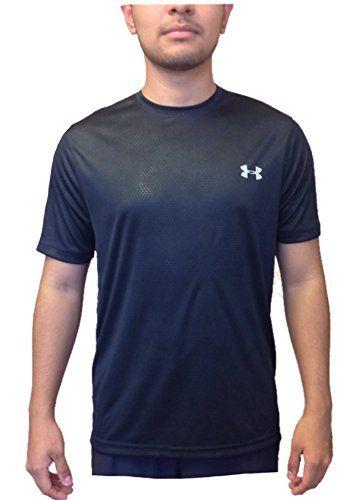 Robot Check Under Armour Men Shirts Black Shirt