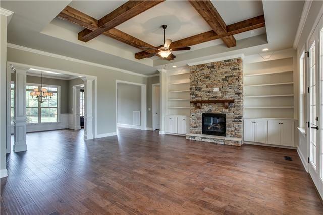 Love The Cedar Beams Vs Trim For A Coffer Ceiling Beams Living