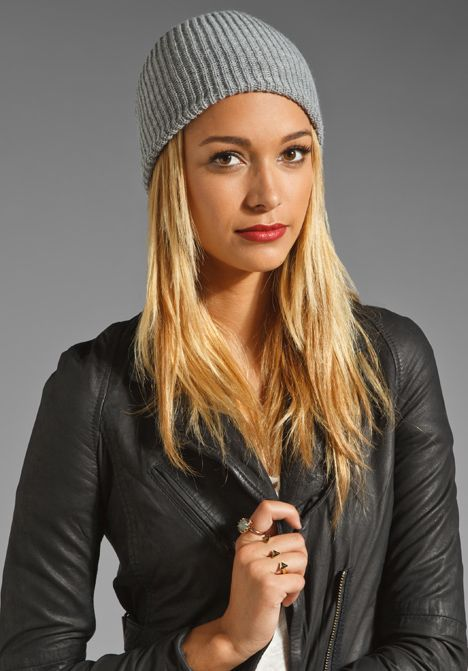 0457542f91 COAL The Stanley Beanie in Grey at Revolve Clothing - Free Shipping ...