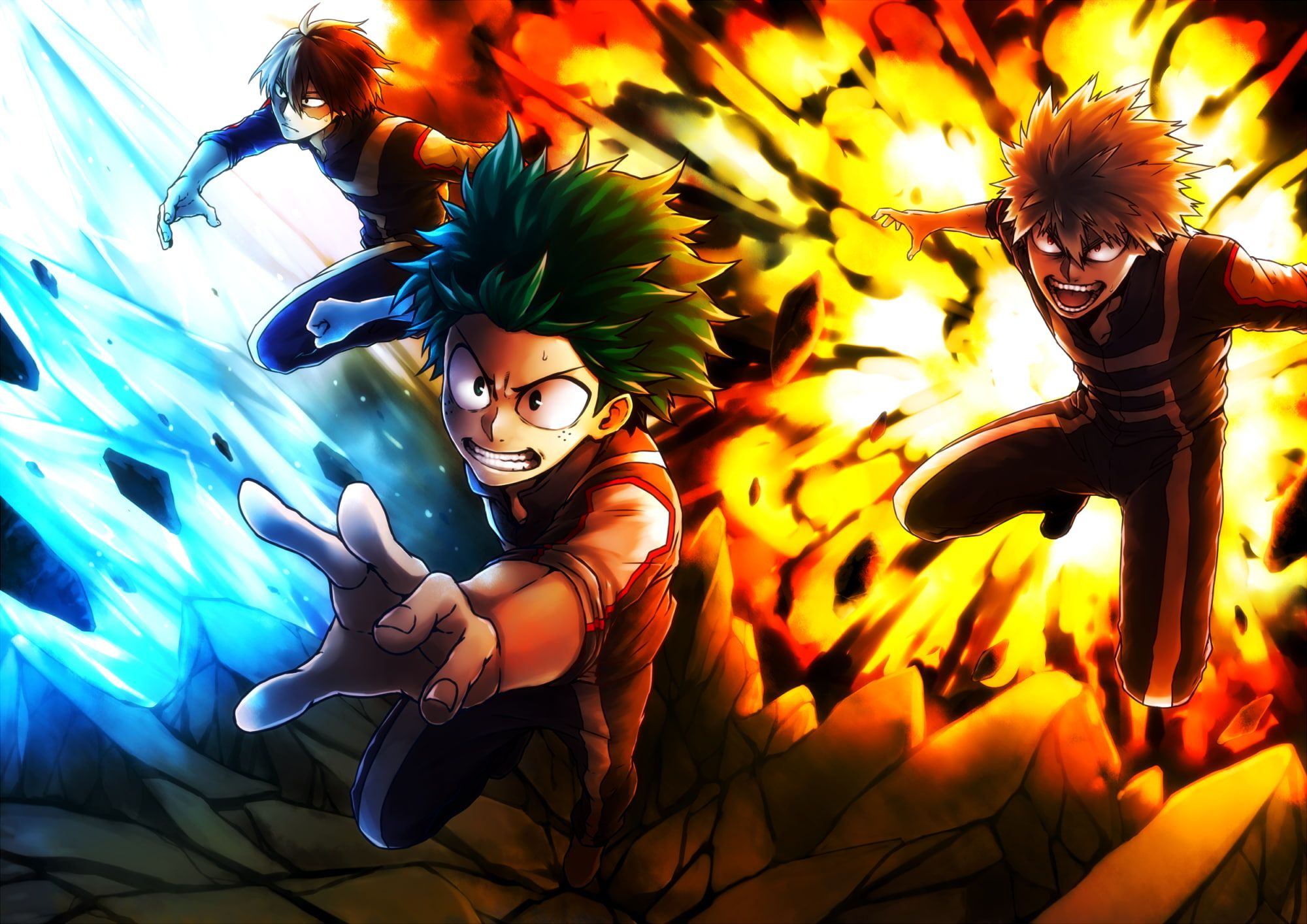 Boku No Hero Academia 1080p Wallpaper Hdwallpaper Desktop Best Action Anime My Hero My Hero Academia