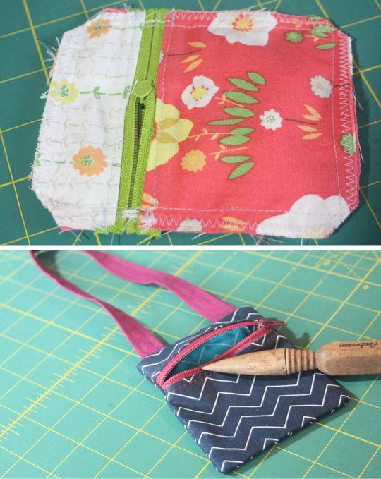 Free Pattern: Hip Zip Bags | Nähe und Nähen