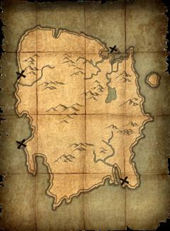 Deathbrand Treasure Map | Treasure maps, Pirate treasure ...